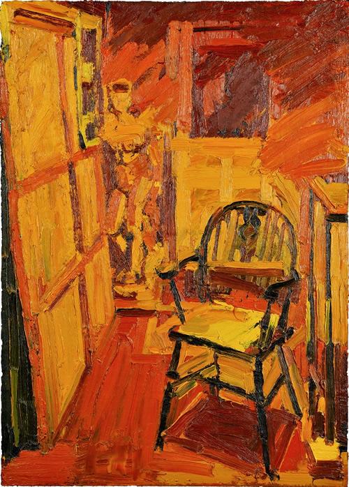 Peter Clossick Studio Interior