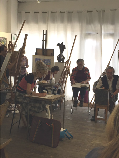 Life Class at Anna Lovely Gallery